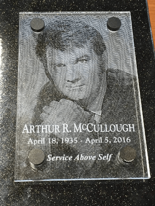 "Service Above Self – Arthur ""Art"" McCullough"