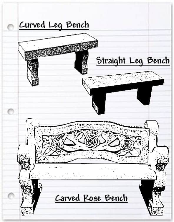 Styles of Benches