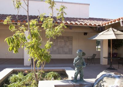 City-of-Poway-Library-Donor-Wall-courtyard