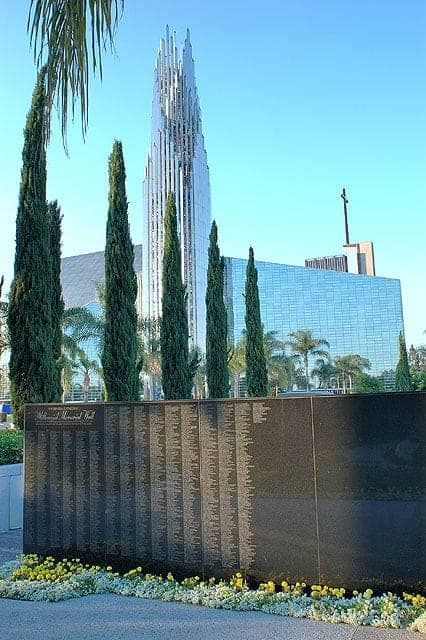 Crystal Cathedral Donor Walls