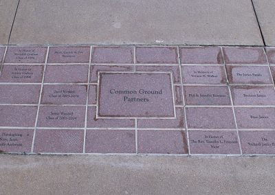 Donor Pavers