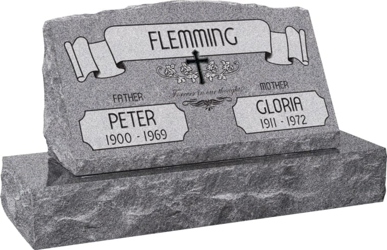 A Headstone as Distinctive as the Life it Represents