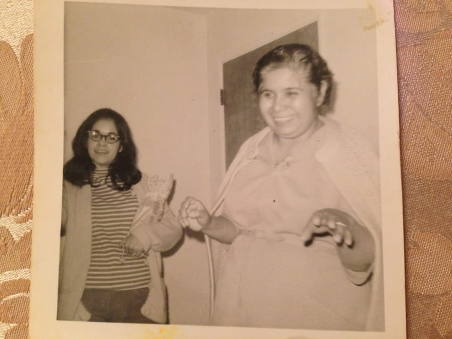 My Grandma and My Mom