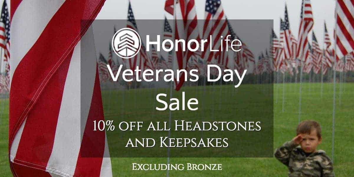 Veterans Day Sale - 10% Off
