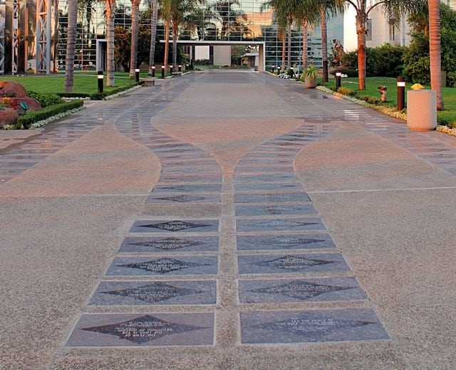 Crystal Cathedral Donor Pavers