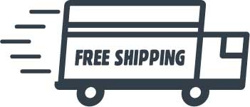 Fast moving shipping truck. Free Shipping Freight